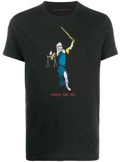 John Varvatos футболка с принтом