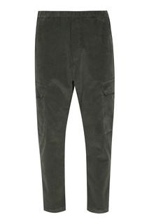 Вельветовые брюки цвета хаки Barena