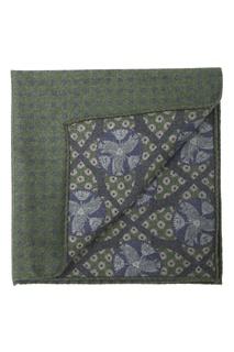 Зеленый шерстяной платок-паше Eton