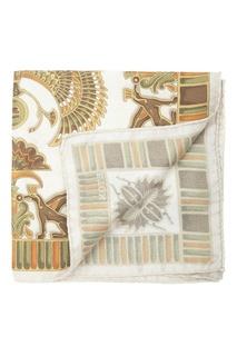 Нагрудный шелковый платок с принтами Eton