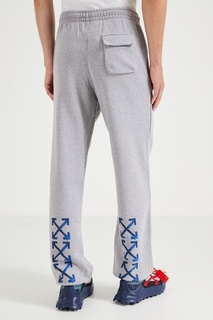 Серые спортивные брюки Off White
