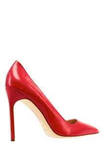 Лакированные туфли BB красного цвета Manolo Blahnik