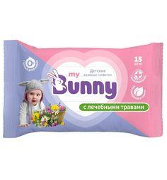 Влажные салфетки My Bunny детские с лечебными травами