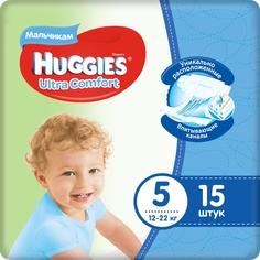 Подгузники Huggies Ultra Comfort 5 для мальчиков (12-22 кг) шт.