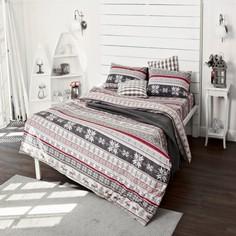 Комплект постельного белья Тм Текстиль Норвежский узор (фланель)