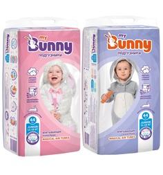 Подгузники My Bunny с канальцами Junior (11-18 кг) шт.