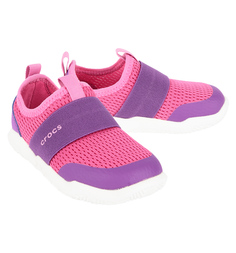 Кроссовки Crocs Swiftwater Easy-on Candy Pink/Amethyst