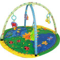 Развивающий коврик Leader Kids с подвесными игрушками 84 х 84 см