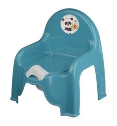 Горшок-стульчик М-Пластика Панда
