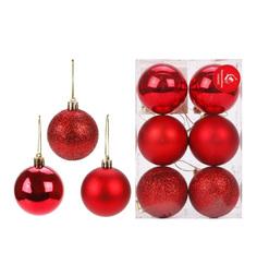 Набор елочных украшений Новогодняя сказка Шары