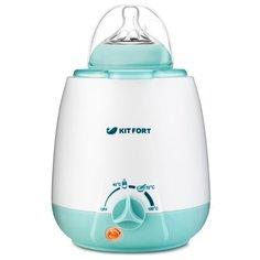 Подогреватель-стерилизатор Kitfort KT-2301 белый/голубой