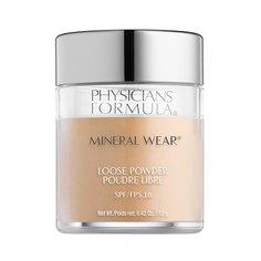 Physicians Formula Пудра Mineral Wear Loose Powder SPF 16 кремовый натуральный