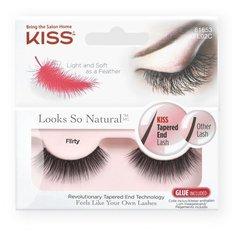 Kiss Накладные ресницы Looks so Natural Flirty черный