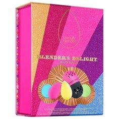 Набор спонжей beautyblender Blenders Delight с мылом, 2 шт. розовый/желтый