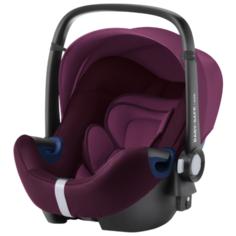 Автокресло-переноска группа 0+ (до 13 кг) BRITAX ROMER Baby-Safe2 i-Size, burgundy red