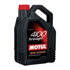 Моторное масло Motul 4100 Turbolight 10W40 4 л