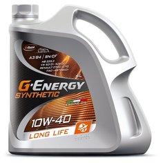 Моторное масло G-Energy Synthetic Long Life 10W-40 4 л