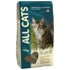 Корм для кошек ALL CATS Сухой полнорационный 13 кг