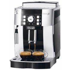 Кофемашина DeLonghi Magnifica ECAM 21.117 S серебристый/черный