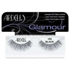 Ardell накладные ресницы Glamour Fashion Lash 105 black