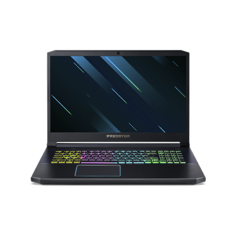 "Ноутбук Acer Predator Helios 300 (PH317-53-544X) (Intel Core i5 9300H 2400 MHz/17.3""/1920x1080/16GB/512GB SSD/DVD нет/NVIDIA GeForce RTX 2060/Wi-Fi/Bluetooth/Linux) NH.Q5QER.01B черный"