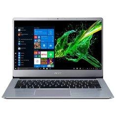 "Ноутбук Acer SWIFT 3 (SF314-58-70KB) (Intel Core i7 10510U 1800 MHz/14""/1920x1080/8GB/512GB SSD/DVD нет/Intel UHD Graphics/Wi-Fi/Bluetooth/Windows 10 Home) NX.HPMER.004 серебристый"