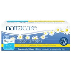 Natracare тампоны Super без аппликатора 20 шт.