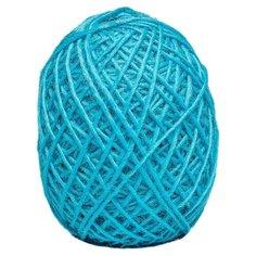 Пряжа Cloudlet Спагеттони PRW50, 100 % мериносовая шерсть, 50 г, 125 м, 4 шт., голубой