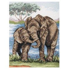 Anchor Набор для вышивания Слоны 23 х 18 см (PCE963)