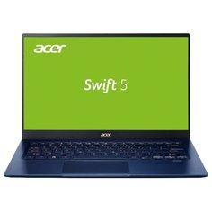 "Ноутбук Acer SWIFT 3 (SF514-54GT-53J6) (Intel Core i5-1035G1 1000 MHz/14""/1920x1080/8GB/512GB SSD/DVD нет/NVIDIA GeForce MX250/Wi-Fi/Bluetooth/Windows 10 Home) NX.HHVER.001 синий"