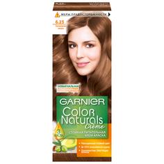 GARNIER Color Naturals стойкая питательная крем-краска для волос, 6.23, Перламутровый миндаль