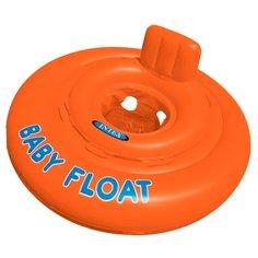 Надувные водные ходунки Intex Baby Float 56588 оранжевый