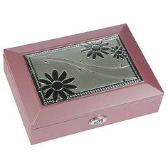 Moretto Шкатулка 39918 розовый/серебристый