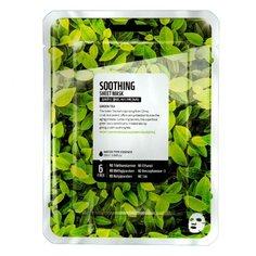 SUPERFOOD SALAD FOR SKIN тканевая маска Зеленый чай - успокаивающий эффект