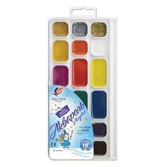 Луч Краски акварельные Престиж 18 цветов, медовые, без кисти (18С 1232-08)