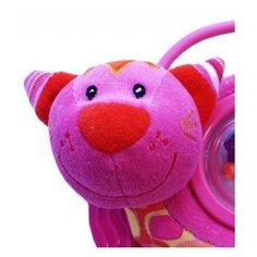 Прорезыватель-погремушка Roxy kids Котенок Минкси розовый