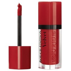 Bourjois жидкая помада для губ Rouge Edition Velvet, оттенок 01 Personne ne rouge!
