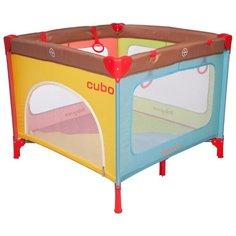 Манеж Baby Care Cubo разноцветный