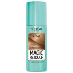 Спрей LOreal Paris Magic Retouch для мгновенного закрашивания отросших корней волос, оттенок Русый, 75 мл