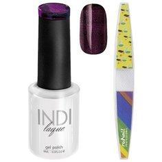 Набор для маникюра Runail пилка для ногтей и гель-лак INDI laque