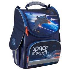 Kite Ранец Space Trip K19-501S-10, синий/голубой