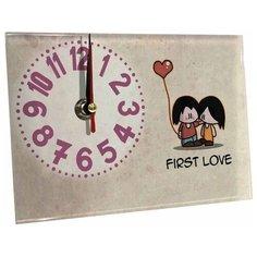 Часы настольные Идеал Первая любовь бежевый Ideal