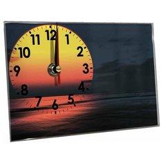 Часы настольные Идеал Закат темно-синий Ideal