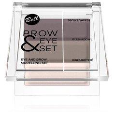 Bell Набор для бровей Brow And Eye Modelling Set 01