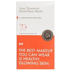 "Grace & Stella Маска тканевая для проблемной кожи лица ""анти-акне"" Acne Treatment Facial Sheet Masks, 168 мл"