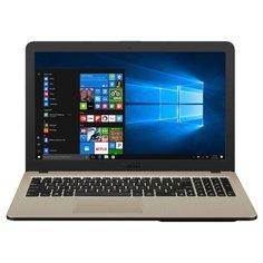 "Ноутбук ASUS X540MA (Intel Celeron N4000 1100 MHz/15.6""/1366x768/4GB/500GB HDD/DVD нет/Intel UHD Graphics 600/Wi-Fi/Bluetooth/Endless OS) 90NB0IR1-M00820, X540MA-GQ064 черный"