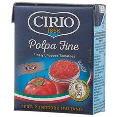 Томаты Polpa fine очищенные резаные Cirio картонная коробка 390 г