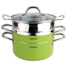 Набор посуды Bohmann 3307BH 4 пр. зеленый
