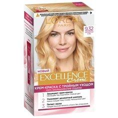 LOreal Paris Excellence стойкая крем-краска для волос, 9.32, Сенсационный блонд