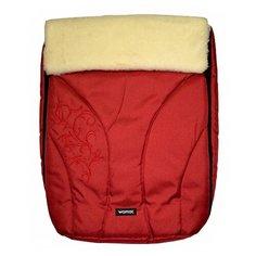 Конверт-мешок Womar Snowflake в коляску 95 см 4/2 красный